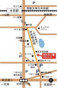 パレット地図